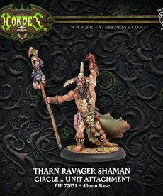 Privateer Press - PIP Hordes - Circle Orboros - Tharn Ravager Shaman - Unit Attachment