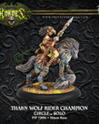 Privateer Press - PIP Hordes - Circle Orboros - Tharn Wolf Rider Champion - Solo