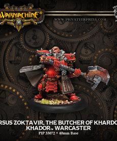 Privateer Press - PIP Warmachine - Khador - Orsus Zoktavir, The Butcher of Khardov - Warcaster (Orsus 2)