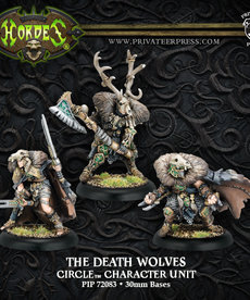Privateer Press - PIP Hordes - Circle Orboros - The Death Wolves - Character Unit