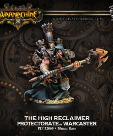 Privateer Press - PIP Warmachine - Protectorate of Menoth - The High Reclaimer - Warcaster (Reclaimer 1)