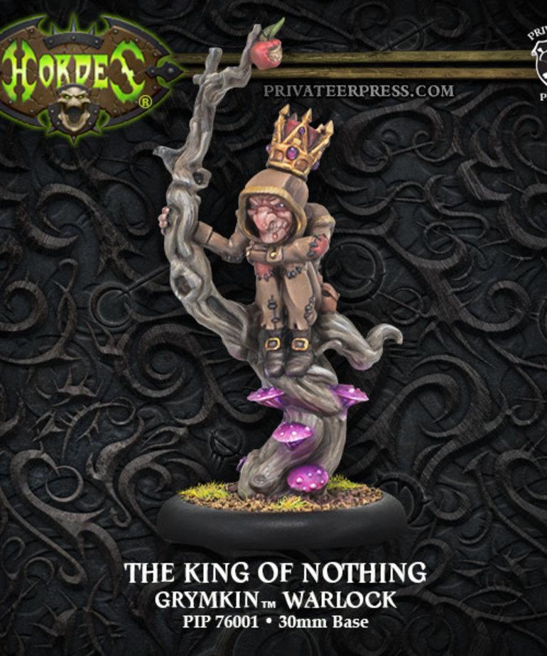 Privateer Press - PIP Hordes - Grymkin - The King of Nothing - Warlock (Nothing 1)