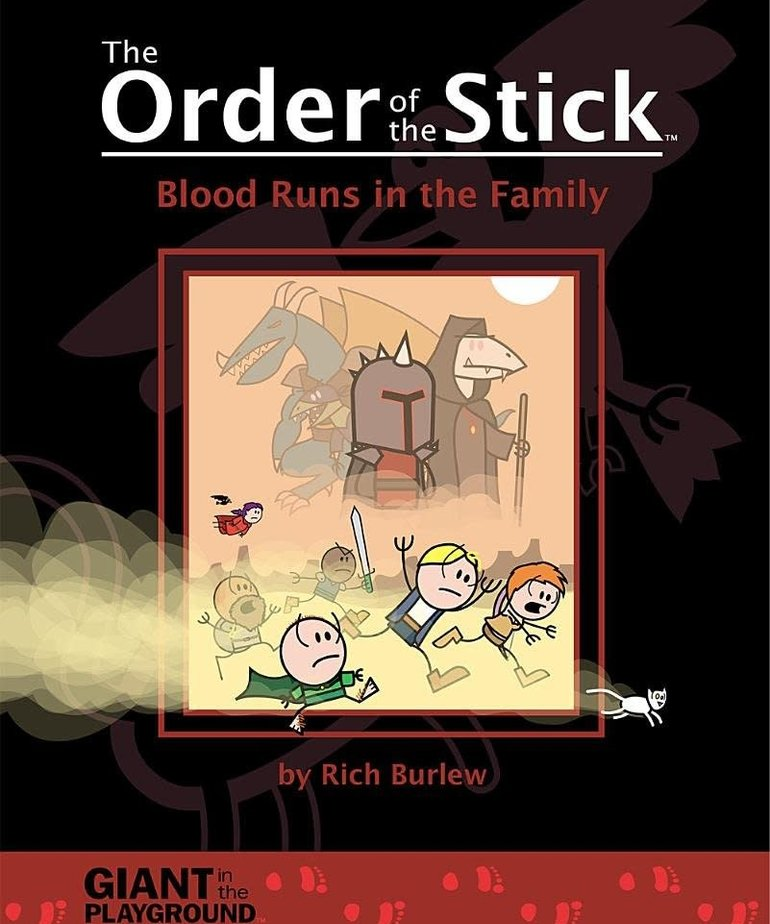 CLEARANCE The Order of the Stick Volume 5: Blood Runs in the Family (DOMESTIC ONLY)