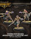 Privateer Press - PIP Warmachine - Mercenaries - Thorn Gun Mages - Llaelese Unit
