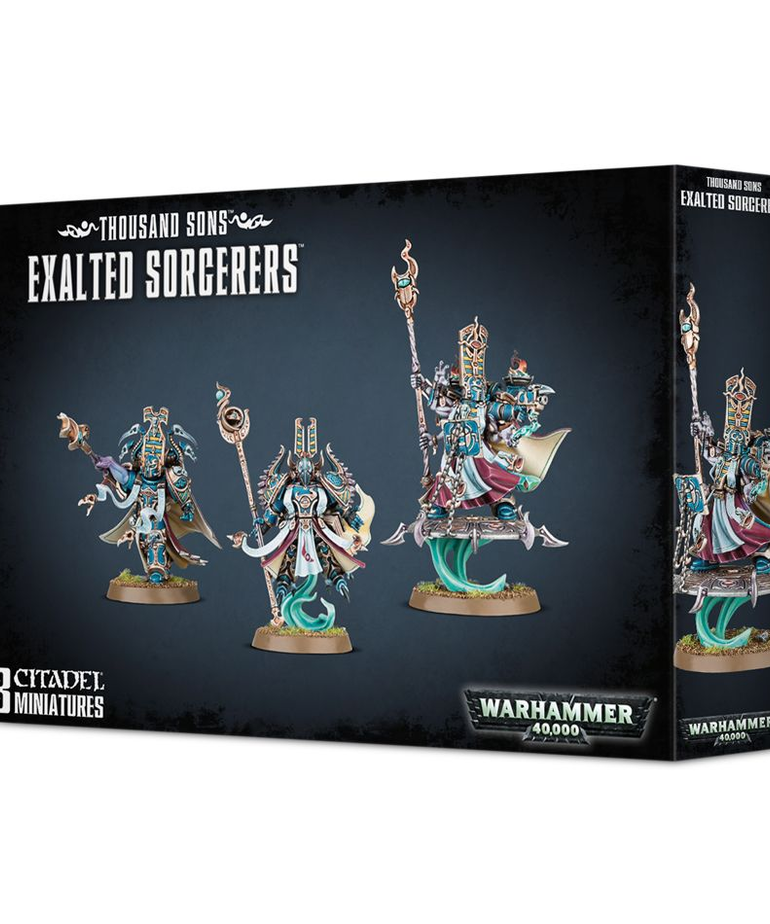 Games Workshop - GAW Thousand Sons - Exalted Sorcerers