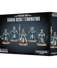 Games Workshop - GAW Thousand Sons - Scarab Occult Terminators