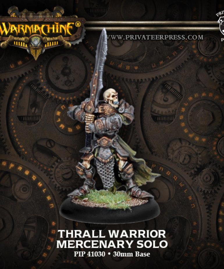 Privateer Press - PIP Warmachine - Mercenaries - Thrall Warrior - Solo