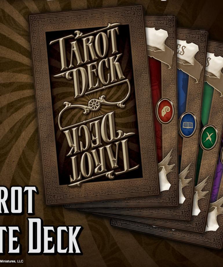 Wyrd Miniatures - WYR Malifaux: Through the Breach - Tarot Fate Deck