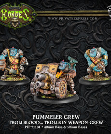 Privateer Press - PIP Hordes - Trollbloods - Thumper / Pummeler Crew - Trollkin Weapon Crew