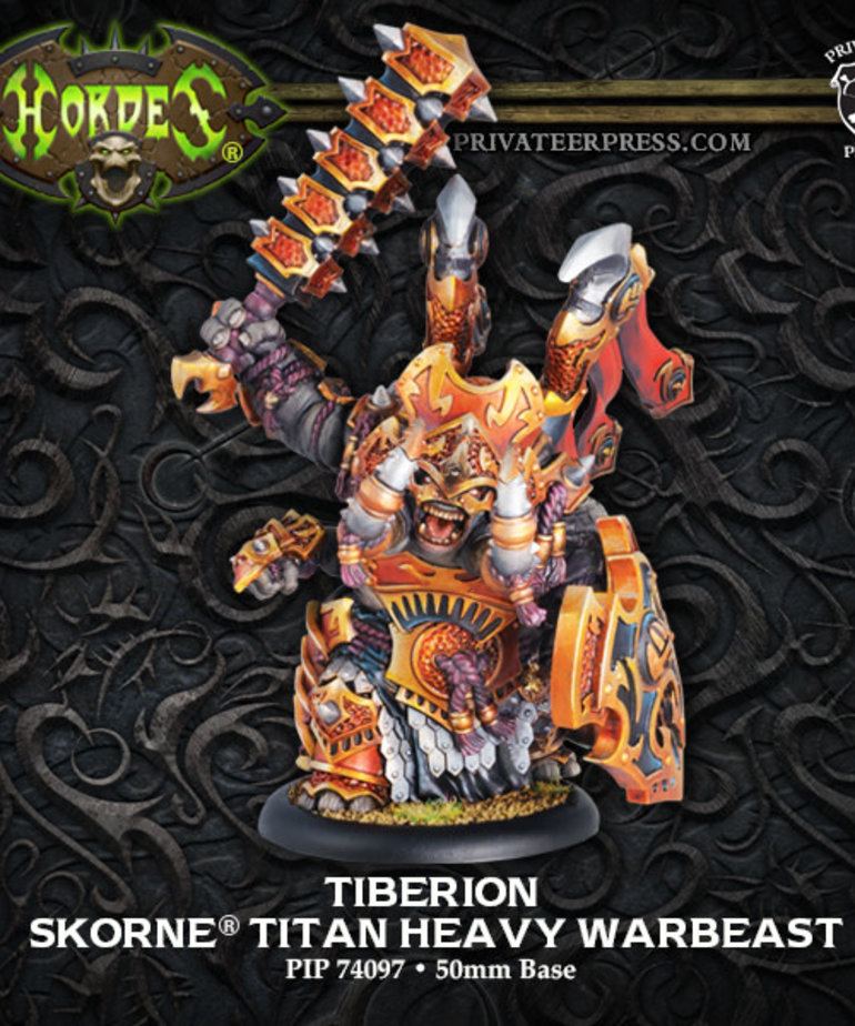 Privateer Press - PIP Hordes - Skorne - Tiberion - Titan Heavy Warbeast