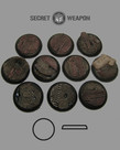 Secret Weapon Miniatures - SWM Trench Works 30mm Bases (10) Secret Weapon Bases BLACK FRIDAY NOW