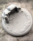 Secret Weapon Miniatures - SWM CLEARANCE Trench Works 50mm Base 02 Secret Weapon Bases