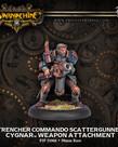 Privateer Press - PIP Warmachine - Cygnar - Trencher Commando Scattergunner - Weapon Attachment