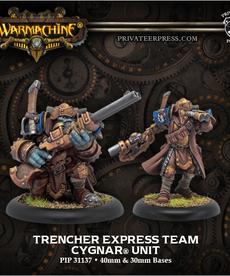 Privateer Press - PIP Warmachine - Cygnar - Trencher Express Team - Unit