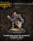 Privateer Press - PIP Warmachine - Cygnar - Trencher Master Gunner - Solo