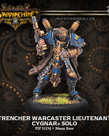 Privateer Press - PIP Warmachine - Cygnar - Trencher Warcaster Lieutenant - Solo