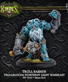 Privateer Press - PIP Hordes - Trollbloods - Troll Basher - Northkin Light Warbeast