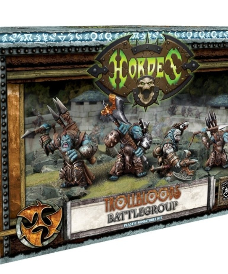 Privateer Press - PIP Hordes - Trollblood Battlegroup Starter