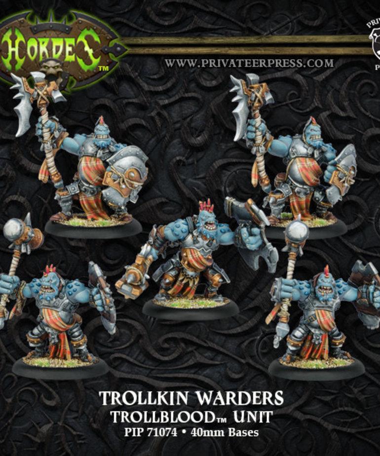 Privateer Press - PIP Hordes - Trollbloods - Trollkin Warders - Unit