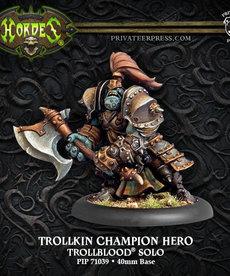 Privateer Press - PIP Hordes - Trollbloods - Trollkin Champion Hero - Solo