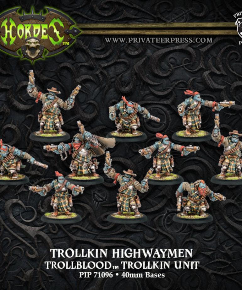 Privateer Press - PIP Hordes - Trollbloods - Trollkin Highwaymen - Trollkin Unit