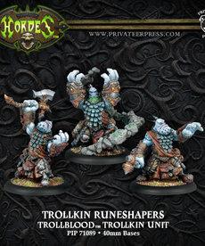 Privateer Press - PIP Hordes - Trollbloods - Trollkin Runeshapers - Trollkin Unit