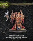 Privateer Press - PIP Hordes - Skorne - Tyrant Vorkesh - Unit Attachment
