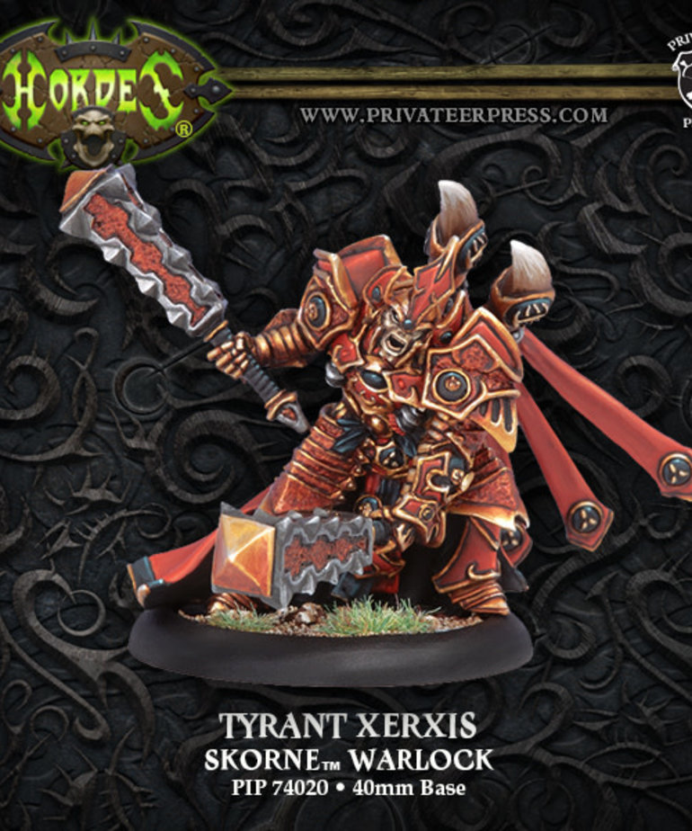 Privateer Press - PIP Hordes - Skorne - Tyrant Xerxis - Warlock (Xerxis 1)