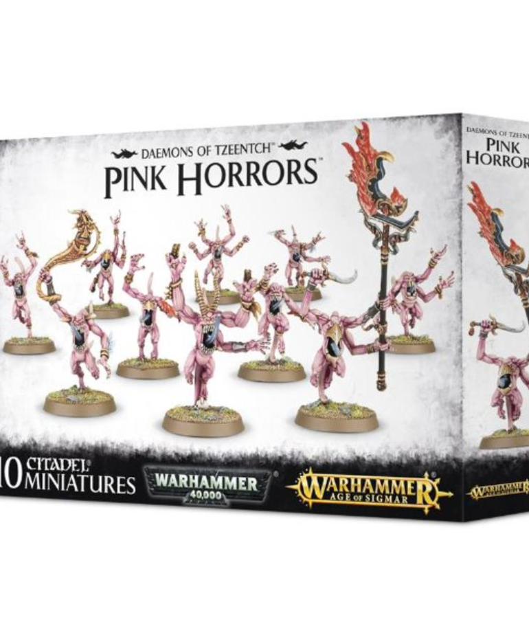 Games Workshop - GAW Warhammer Age of Sigmar - Daemons of Tzeentch - Pink Horrors