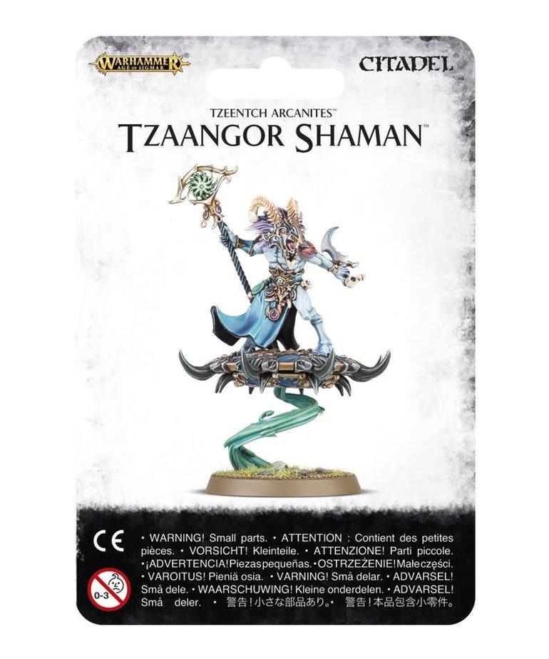 Games Workshop - GAW Warhammer Age of Sigmar - Tzeentch Arcanites - Tzaangor Shaman