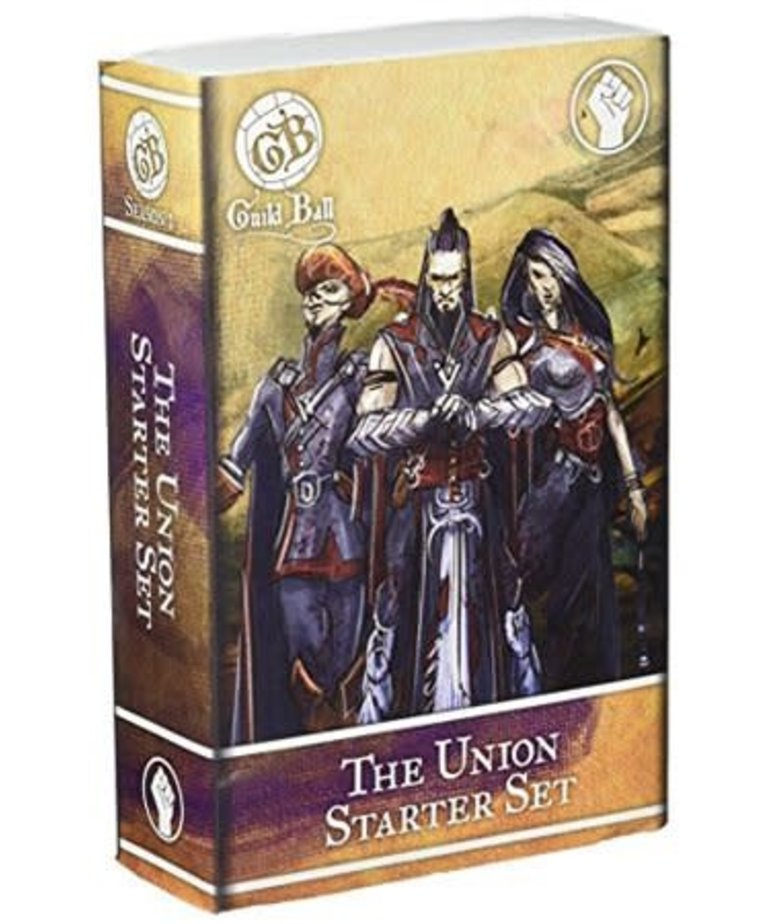 Steamforged Games LTD - STE CLEARANCE Union Starter Set (Blackheart, Gutter and Decimate) Guild Ball