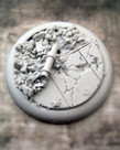 Secret Weapon Miniatures - SWM CLEARANCE Urban Rubble Base 03 50mm Secret Weapon Bases