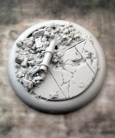 Secret Weapon Miniatures - SWM Urban Rubble Base 03 50mm BLACK FRIDAY NOW
