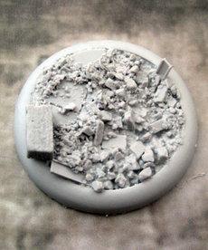 Secret Weapon Miniatures - SWM Urban Rubble Base 04 50mm BLACK FRIDAY NOW