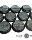 Secret Weapon Miniatures - SWM CLEARANCE Urban Streets (10) 30mm Secret Weapon Bases