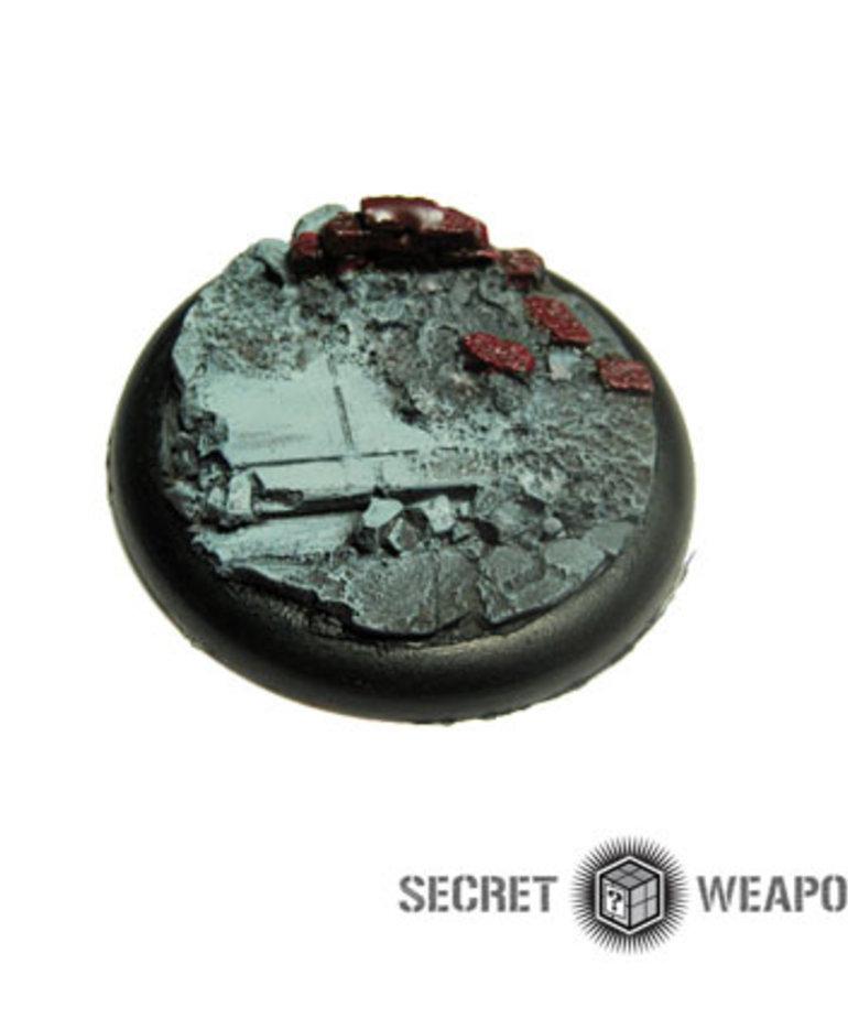Secret Weapon Miniatures - SWM Urban Streets Base 01 50mm Secret Weapon Bases BLACK FRIDAY NOW