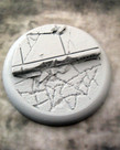 Secret Weapon Miniatures - SWM CLEARANCE Urban Streets Base 02 50mm Secret Weapon Bases
