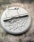 Secret Weapon Miniatures - SWM Urban Streets Base 02 50mm Secret Weapon Bases BLACK FRIDAY NOW