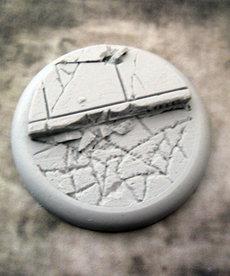 Secret Weapon Miniatures - SWM Urban Streets Base 02 50mm BLACK FRIDAY NOW