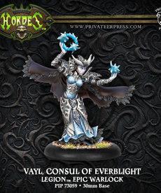 Privateer Press - PIP Hordes - Legion of Everblight - Vayl, Consul of Everblight - Epic Warlock (Vayl 2)