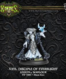 Privateer Press - PIP Hordes - Legion of Everblight - Vayl, Disciple of Everblight - Warlock (Vayl 1)