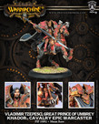 Privateer Press - PIP Warmachine - Khador - Vladimir Tzepesci, Great Prince of Umbrey - Cavalry Epic Warcaster (Vlad 3)