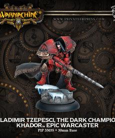 Privateer Press - PIP Warmachine - Khador - Vladimir Tzepesci, The Dark Champion - Epic Warcaster (Vlad 2)