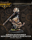 Privateer Press - PIP Warmachine - Mercenaries - Durgen Madhammer - Rhulic Warcaster (Durgen 1)
