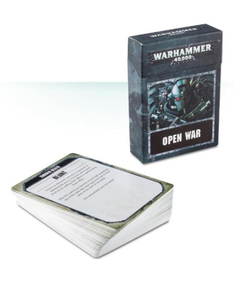 Games Workshop - GAW Warhammer 40K - Open War Cards