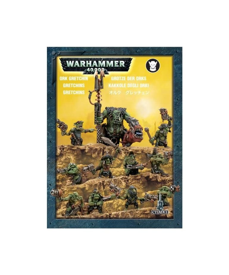 Games Workshop - GAW Warhammer 40K - Ork Gretchin