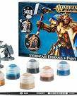 Games Workshop - GAW Warhammer Age of Sigmar: Stormcast Eternals + Paint Set