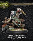 Privateer Press - PIP Hordes - Trollbloods - Madrak Ironhide, Thornwood Chieftain (Variant) - Warlock (Madrak 1)