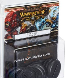 Privateer Press - PIP Warmachine - 30mm bases (12)