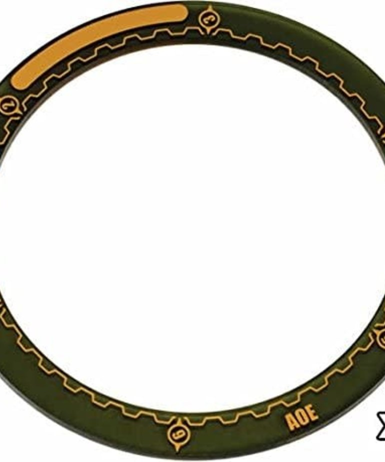 """Privateer Press - PIP Warmachine - 4"""" Area of Effect Ring Markers (3)"""